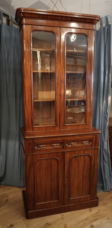 Victorian bookcaseSOLD