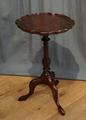 mahogany wine tableSOLD