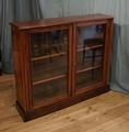 Walnut bookcaseSOLD