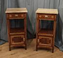 Pair of Deco bedside tablesSOLD