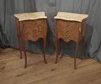 Pair of vintage French bedside tablesSOLD