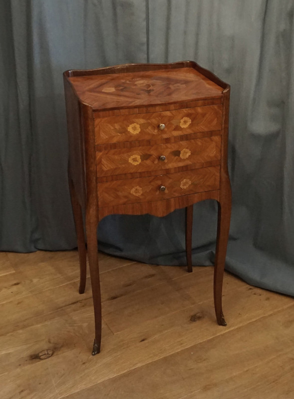 French bedside tableSOLD
