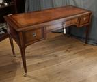 Satinwood writing table