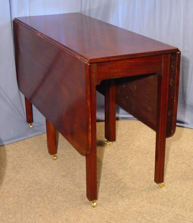 Large dropleaf diningtableSOLD