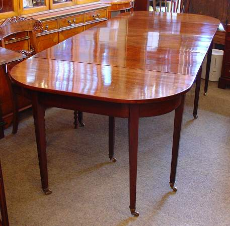 D end large dining tableSOLD