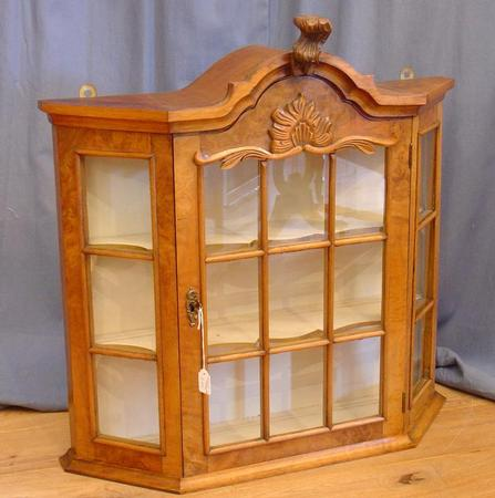 Dutch hanging china cabinet SOLD