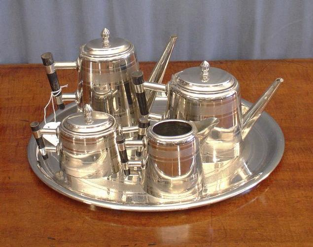 five piece Art Deco tea setSOLD