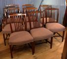 Set of 8 Georgian chairsSOLD