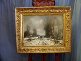 Winter landscape in oilSOLD