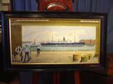 Pierhead painting SS CameroniaSOLD