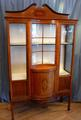 Edwardian Display cabinetSOLD