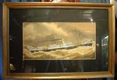 A. Burough 1897 Pierhead artistSOLD