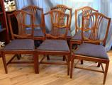 set of six 18thc chairsSOLD