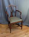 18th century chair with armsSOLD