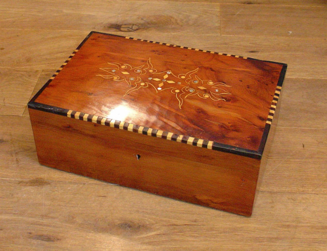 Vintage inlaid boxSOLD