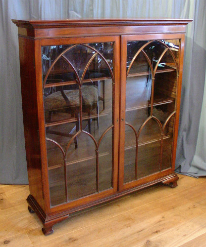 Solid mahogany bookcaseSOLD