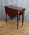 Cuban mahogany occasional tableSOLD