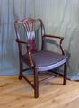 early 19th century chair with armsSOLD