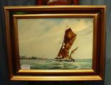 Thames barge sailingSOLD