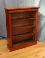 Small open bookcase in walnutSOLD