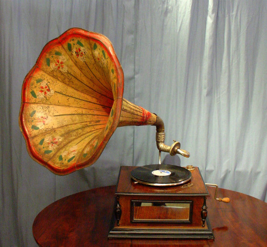 Wind up GramophoneSOLD