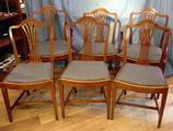 Set of six 19th century chairsSOLD