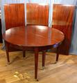 Round extending table to seat 10+SOLD