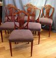 6x Howard and Sons chairs