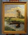 Windmill by P c v d Wilt (1908-1976)SOLD
