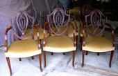 6x chairs with armsSOLD