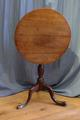 Oak tilt top tableSOLD