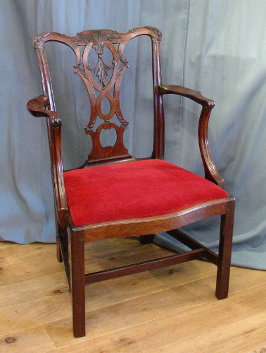 Carved Chippendale chairSOLD