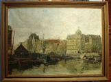 Painting of AmsterdamSOLD