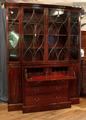 Breakfront secretaire bookcaseSOLD