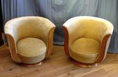 4x Art Deco salon chairsSOLD
