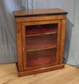 Inlaid walnut pier cabinetSOLD
