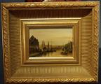 Small Dutch wood panel paintingSOLD