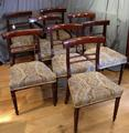 Set of 8 Regency chairsSOLD