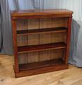 Mahogany open bookcaseSOLD