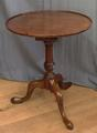 Mahogany tilt top tableSOLD