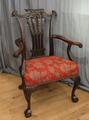 Large Chipendale chairSOLD