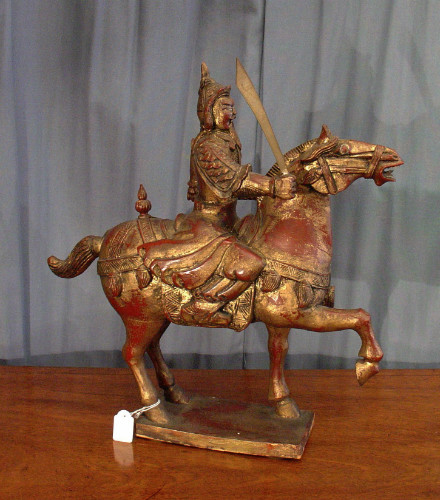 Carved Tang horseSOLD