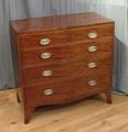 19th century mahogany chest of drawersSOLD