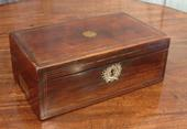 Rosewood writing boxSOLD