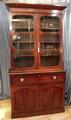 Mahogany bookcase with secretaireSOLD