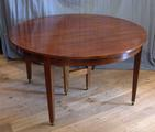 Large extending table in mahoganySOLD