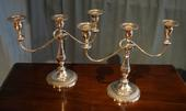Pair of Viners Candlesticks