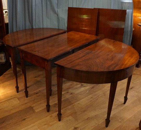 Large  mahogany dining tableSOLD