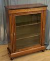 Rosewood peer cabinetSOLD