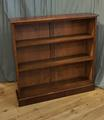 Mahogany open bookcase SOLD